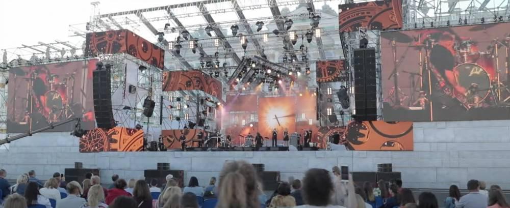 Концерт GO! на Дворцовой площади в честь дня ВМФ, 26.07.2020